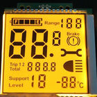 2.8V-5.5V TN LCD Display / Temperature Segment Code LCD Electronic Display
