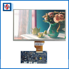9 Inch Tft 800 * 480 Dot Matrix LCD Display Module Backlight SPI / MCU Interface Clear Color Without PCB