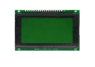 18 Pins 128 X 64 Graphic LCD Module Stn Positive 12864 Screen TN Viewing Angle