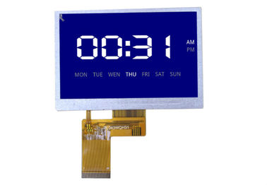 4.3 Inch 480 * 272 TFT LCD Resistive Touchscreen Panel 24 bit For Industrial