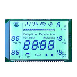 Electric Cooker LCD Display / HTN VA STN TN Rectangle Custom Segment LCD Screen